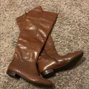 Size 8 1/2 Knee High Riding Boots Nine West